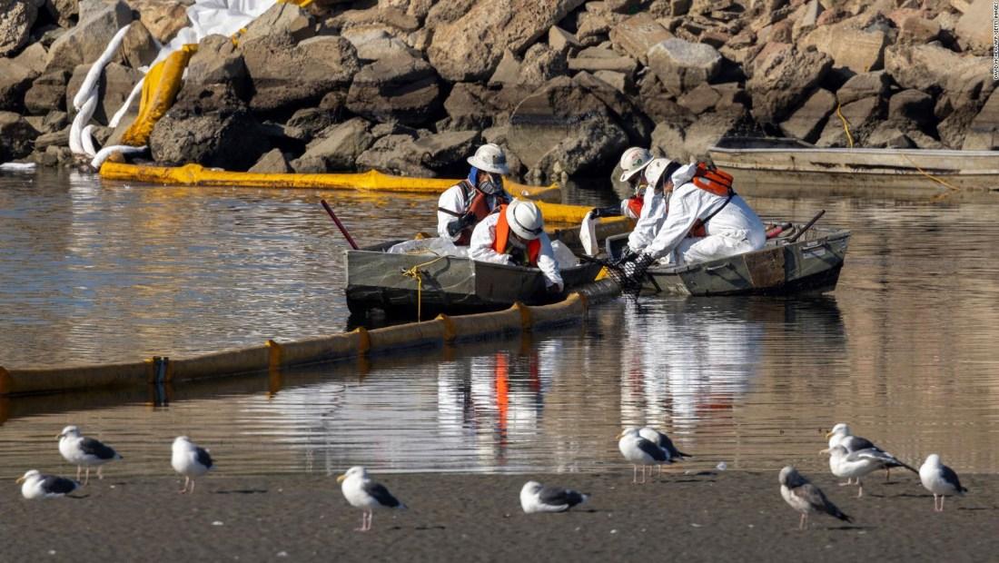 Derrame de petróleo de California podría propagarse