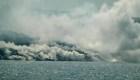 Las consecuencias de la llegada de la lava al mar