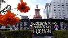 Intervienen de nuevo antimonumenta en glorieta de Colón