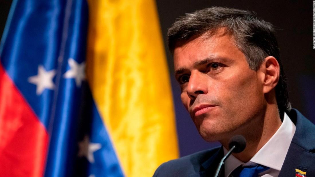 Leopoldo López responde a las críticas e invita a la unidad