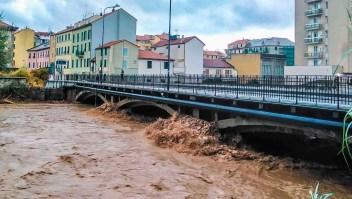 Italia registra precipitaciones sin precedentes