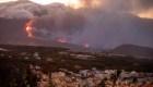 Así está por dentro el volcán en La Palma