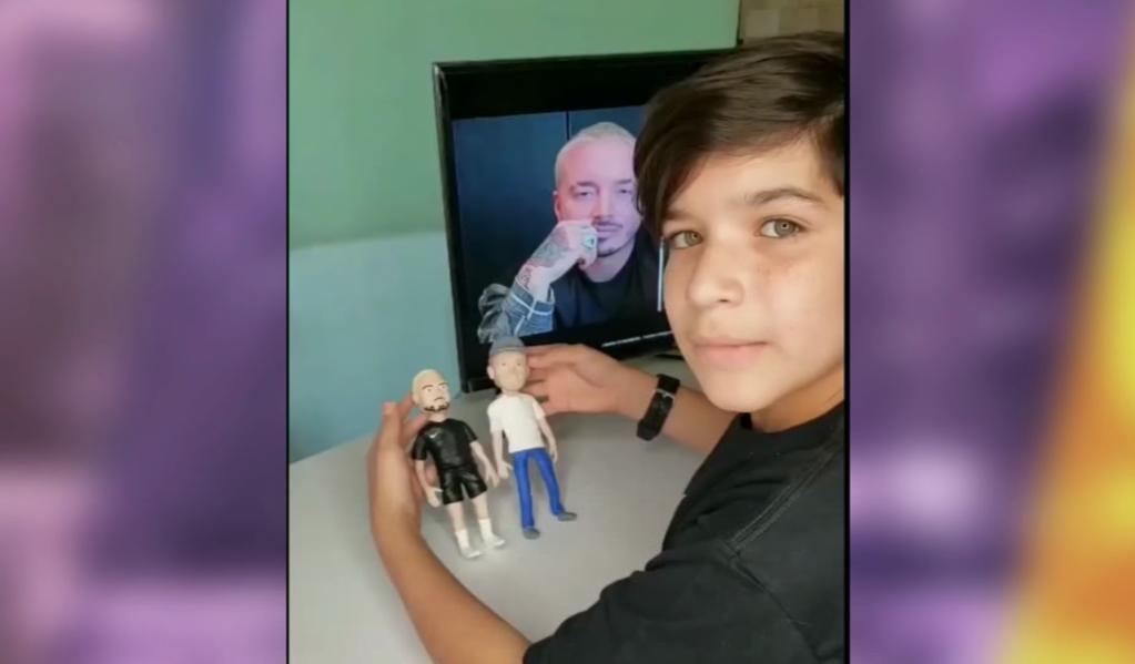 Message from the boy Josué Benjamín to J Balvin and Residente