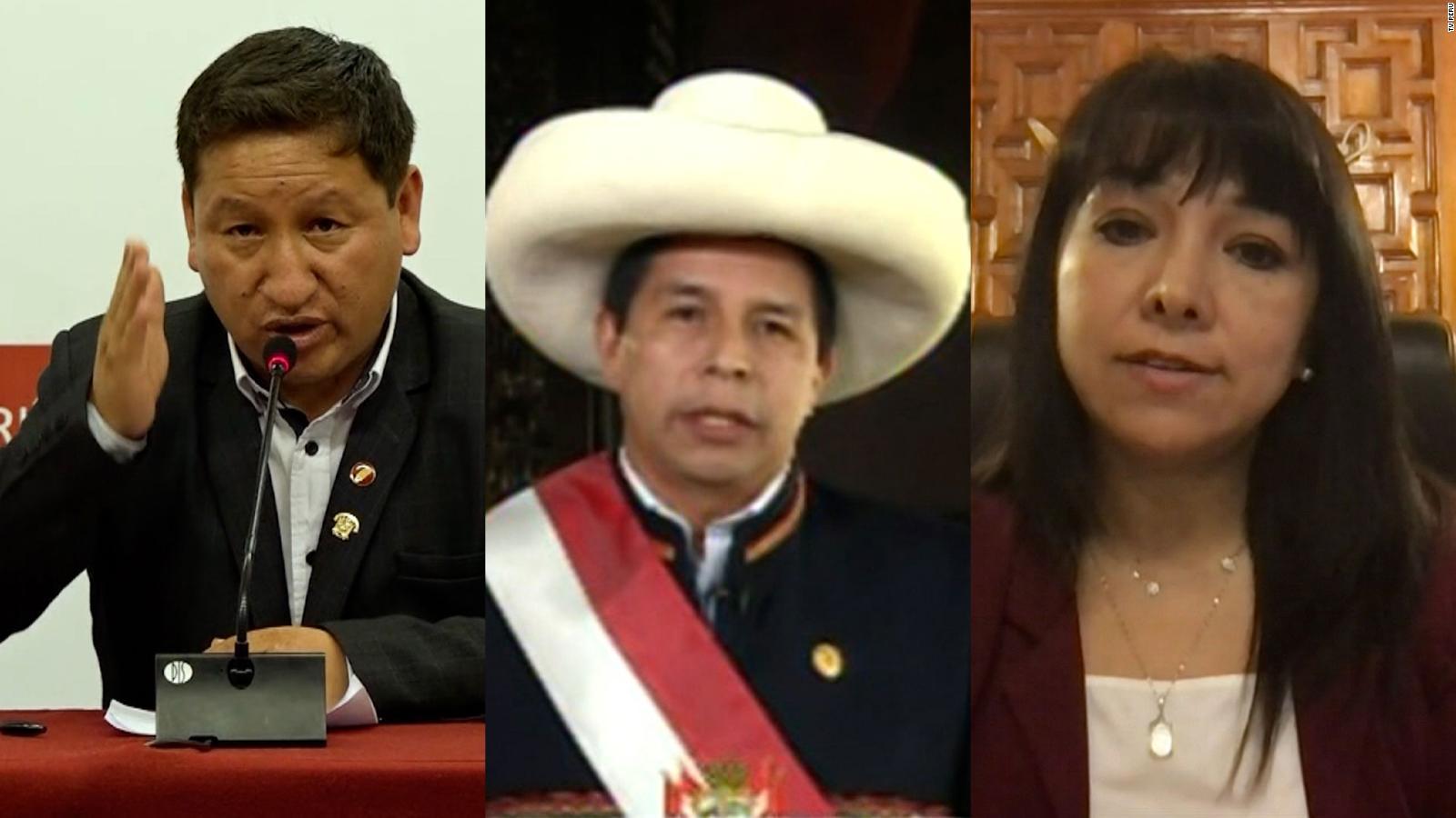 Juramenta nuevo gabinete en Perú tras renuncia de Bellido | Video