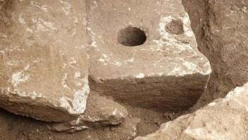 Hallan antiguo inodoro durante excavación en Jerusalén