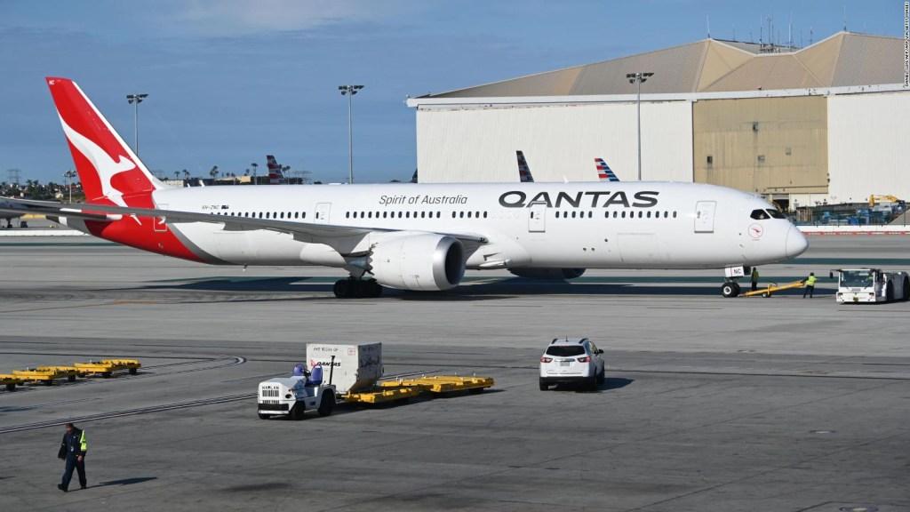 Qantas establece dos récords de vuelo