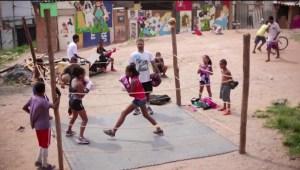 El boxeo como herramienta para los niños de las favelas