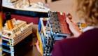 Mira este Titanic a escala de 9.090 piezas de LEGO