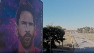 DeseARTE: espectacular mural de Leo Messi en Argentina