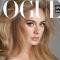 Adele deslumbra en nueva portada de la revista Vogue