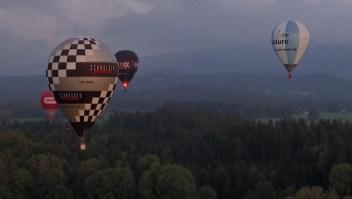 Torneo de globos aerostáticos deja imágenes pintorescas