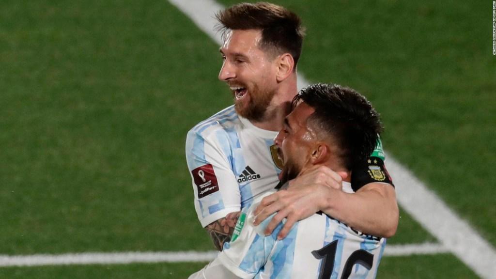 Messi y Argentina brillaron en la última fecha de las Eliminatorias sudamericanas