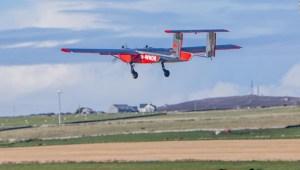 Este dron lleva correo a islas remotas