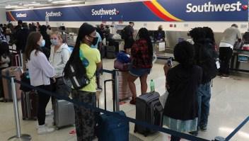 Caos tras cancelación de más de 2.300 vuelos de Southwest