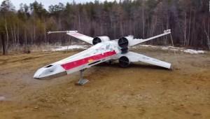 "Fans rusos crean réplica de nave Jedi de ""Star Wars"""