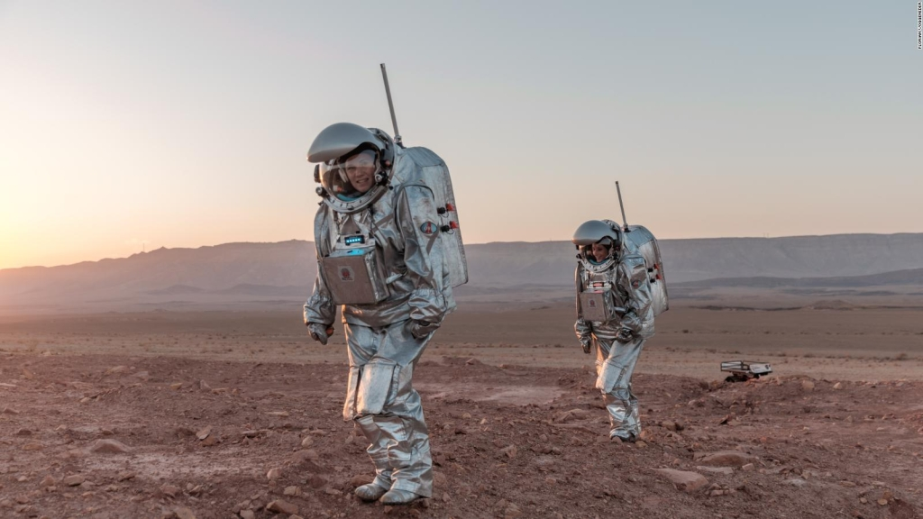 Mira cómo estos científicos simulan vivir en Marte