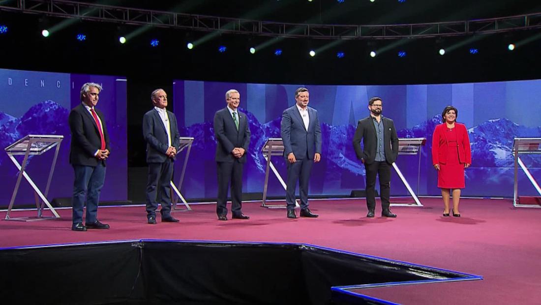 ¿Qué ocurrió en el último debate presidencial de Chile?