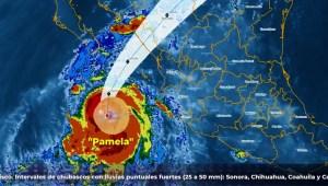 El Pacífico mexicano se alista para el huracán Pamela