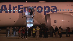 Excolaboradores afganos y sus familias llegan a España