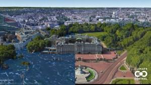 El mar podría devorar grandes ciudades costeras, así se verían