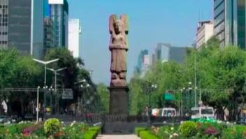 La joven de Amajac ocupará el sitio de Cristóbal Colón
