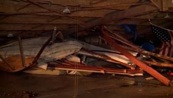 Tormenta causa severos daños en aeropuerto de Oklahoma