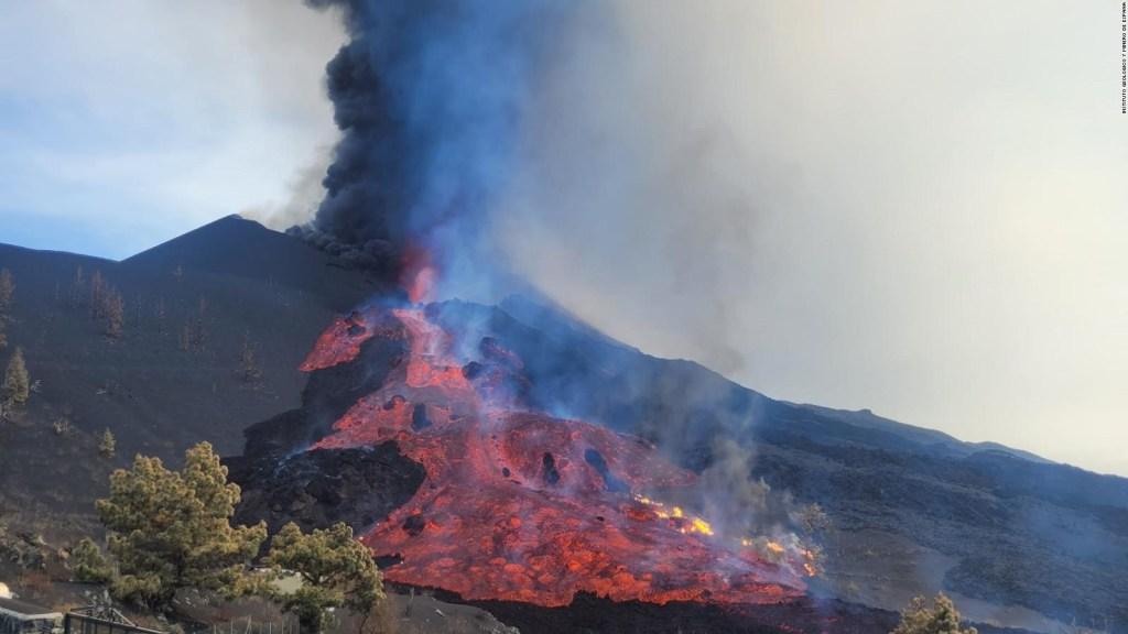 Las erupciones en el volcán de La Palma no paran y esta podría ser la razón