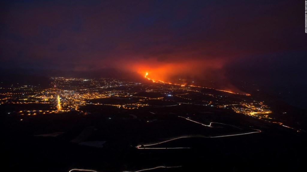 Mira estas increíbles imágenes aéreas del Cumbre Vieja