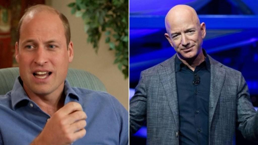 Príncipe William llama a Musk y Bezos a salvar a la Tierra