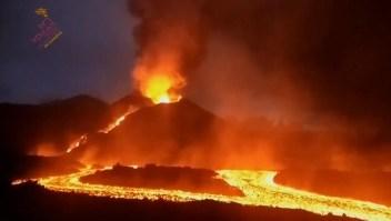 Escucha cómo ruge el volcán en La Palma