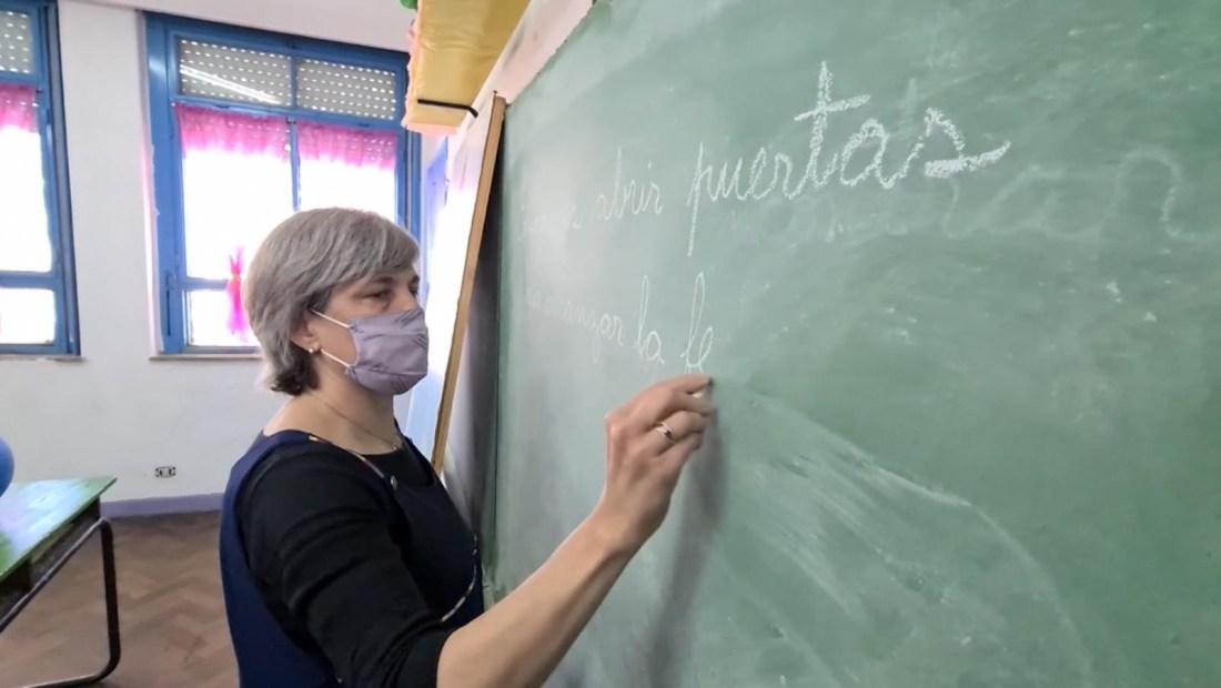Una maestra argentina está entre las mejores del mundo