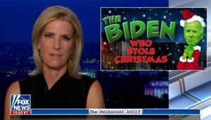 """Medios acusan de Biden de ser """"el Grinch"""""""