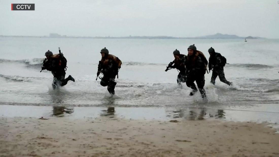 China difunde video de entrenamiento para una invasión