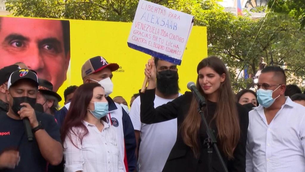 Protestas en Venezuela ante la extradición de Alex Saab a EE.UU.
