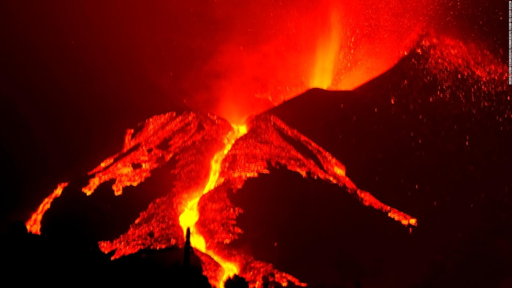 Así suena la lava que avanza sobre La Palma