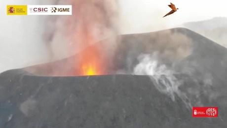Imágenes inéditas del volcán de La Palma