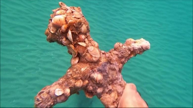 Encuentran tesoro marino en el mar Mediterráneo