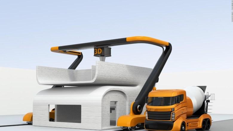 ¿Están en riesgo los empleos por la construcción en 3D?