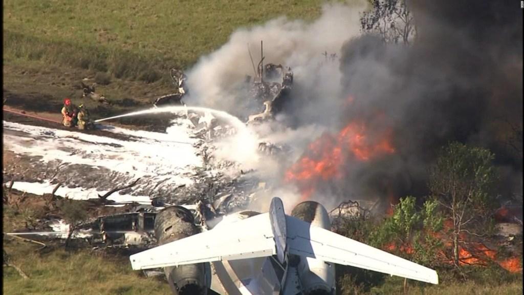 Se estrella avión en Texas sin lamentar fallecidos