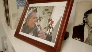 Flores amarillas en la casa de García Márquez en México