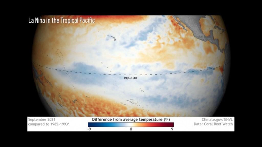 Océano Pacífico ya tiene condiciones para La Niña
