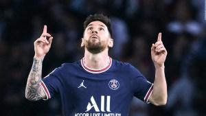 Otra noche mágica de Messi en la Champions