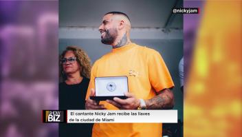 Nicky Jam se apodera de la ciudad de Miami