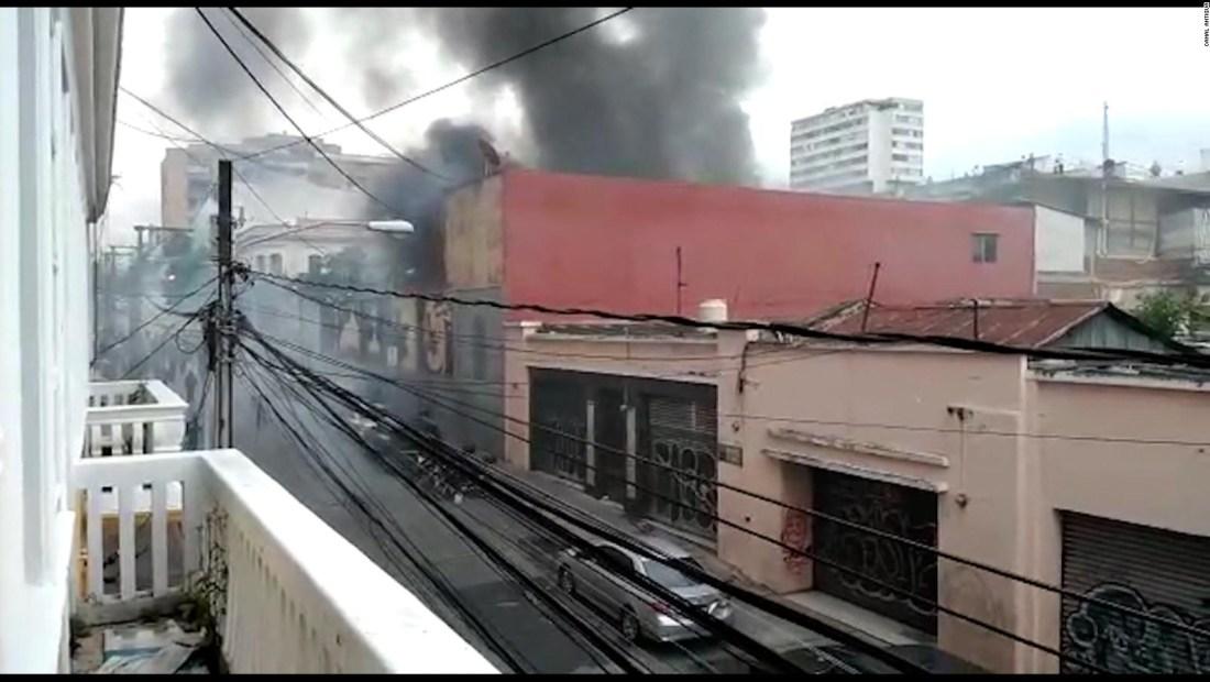 Exmilitares irrumpen en el Congreso de Guatemala