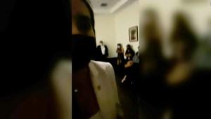 Diputada graba el interior del Congreso tras irrupción