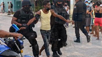 """HRW: """"Represión brutal"""" contra manifestantes en Cuba"""