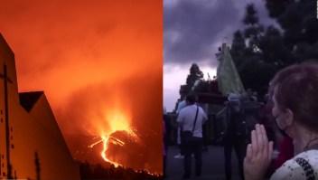 La erupción del volcán en La Palma: La fe vs. La ciencia