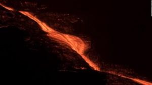 Así se ve la devastación causada por erupción de volcán en La Palma