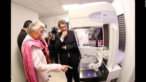 Instalan mastrógrafo de alta generación en Senado de México