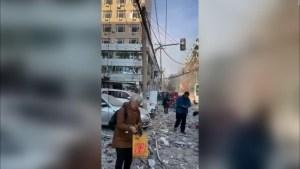 3 muertos tras explosión de gas en un restaurante